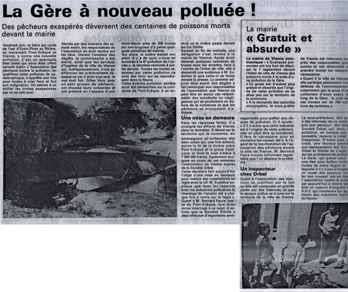 Journal de Vienne 09-09-1985
