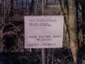 Panneau contre pollution 1986
