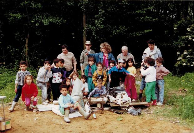 Chantier de nettoyage 1992